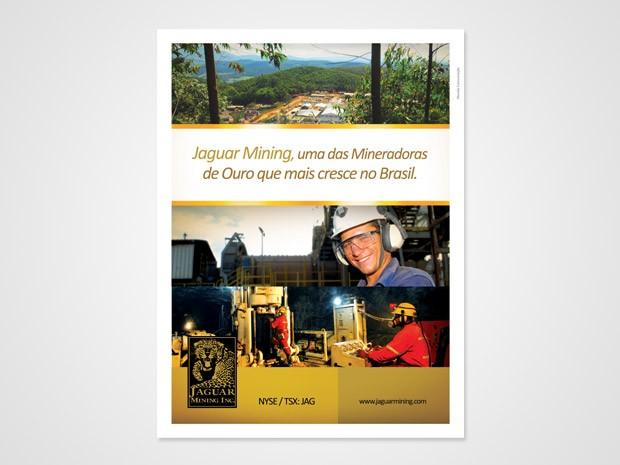 Jaguar - Anúncio Revista Brasil Mineral