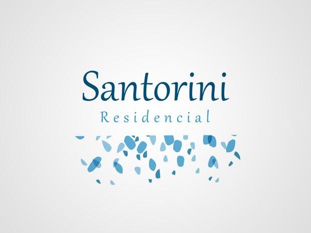 Criação da Logomarca do Empreendimento Santorini