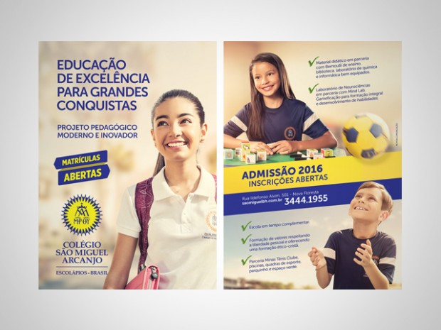 Folheto - Colégio São Miguel Arcanjo