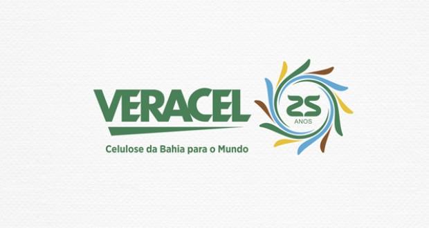 Logomarca Comemorativa Veracel 25 Anos