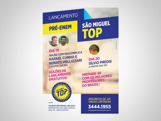 Panfleto 2 - Pré-vestibular São Miguel TOP