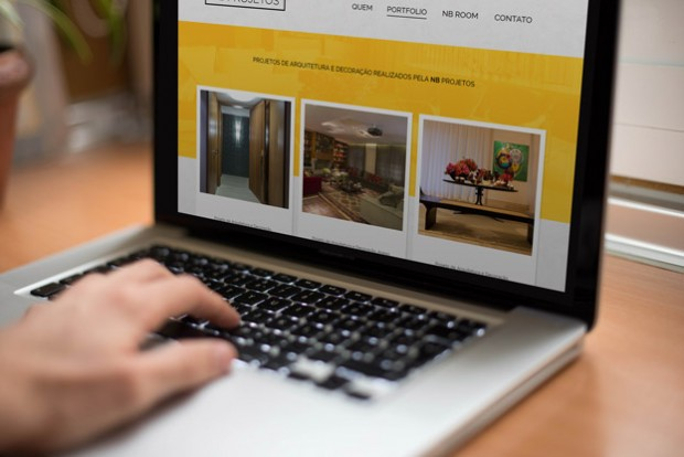 Web Site para NB Projetos