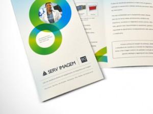 Serv Imagem - Novo sistema de identidade visual, web site e material gráfico