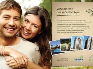 Criação de publicidade Mobyra Incorporações Mercado Imobiliário
