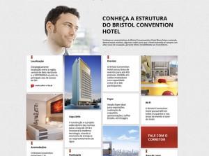 Bristol Convention Hotel tem estratégia de vendas no ambiente digital criada pela Movida Comunicação