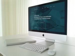 Web Site para Acta Arquitetura Corporativa e Institucional