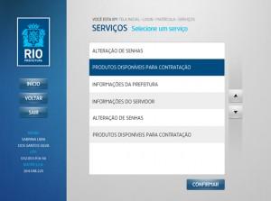 Prefeitura do Rio de Janeiro - Design de Interface de sistema de atendimento ao cidadão