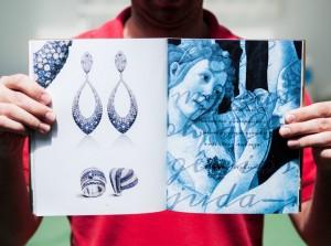 Criação de Catálogo para Valentina Joias - Coleção Musas