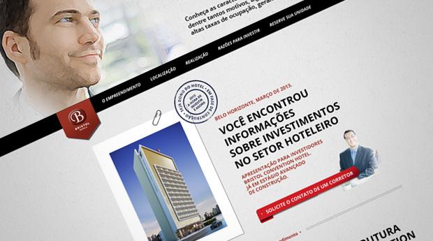 Hotsite Bristol Convention Hotel